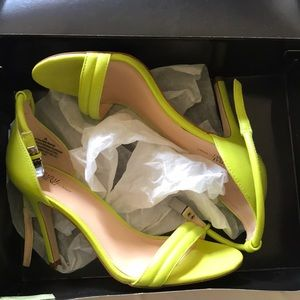 Prabal Gurung size 8.5 Lime Green Heels